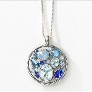 Touchstone Crystal patchwork Pendant